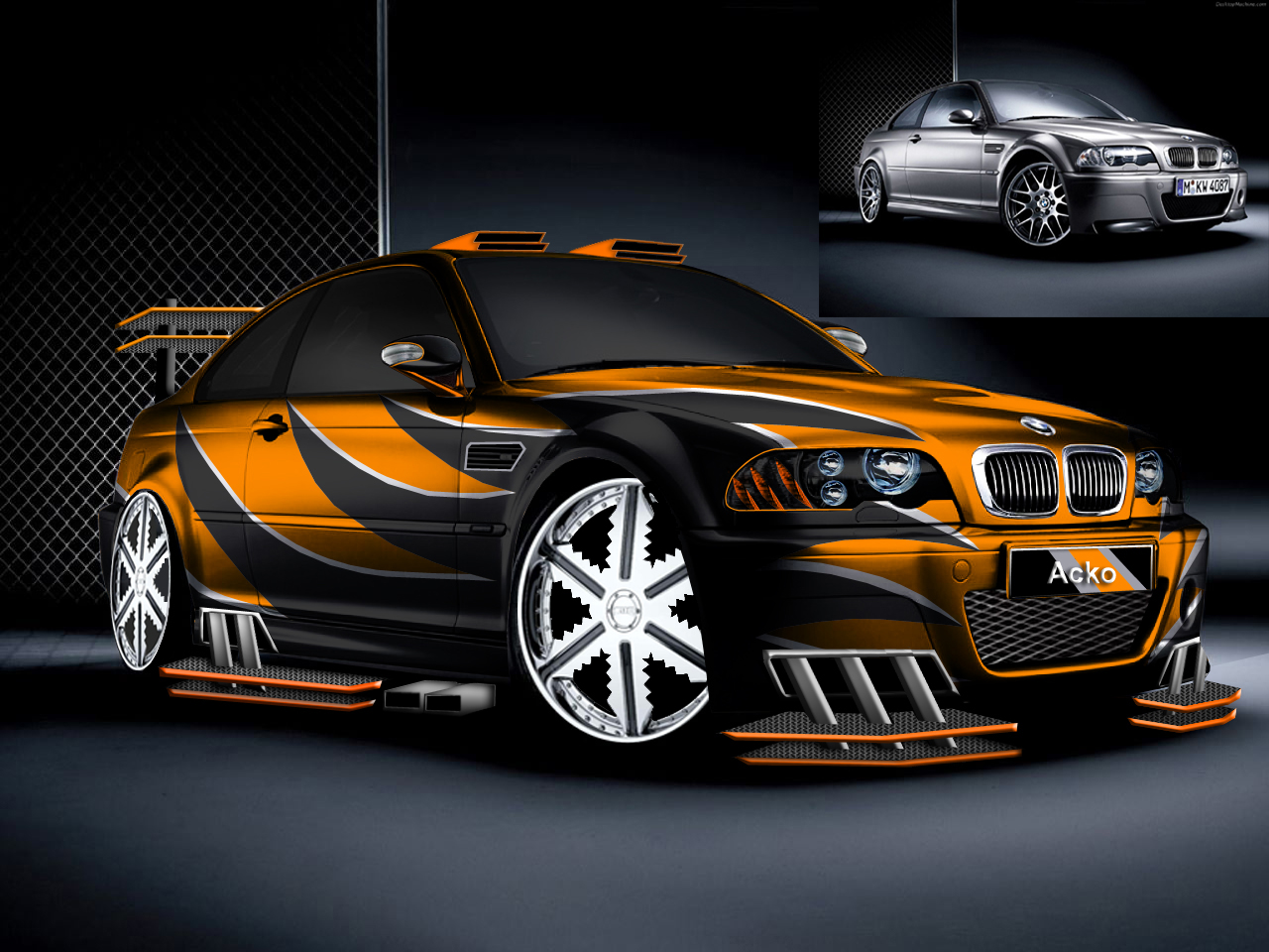 Photoshop Car Tuning