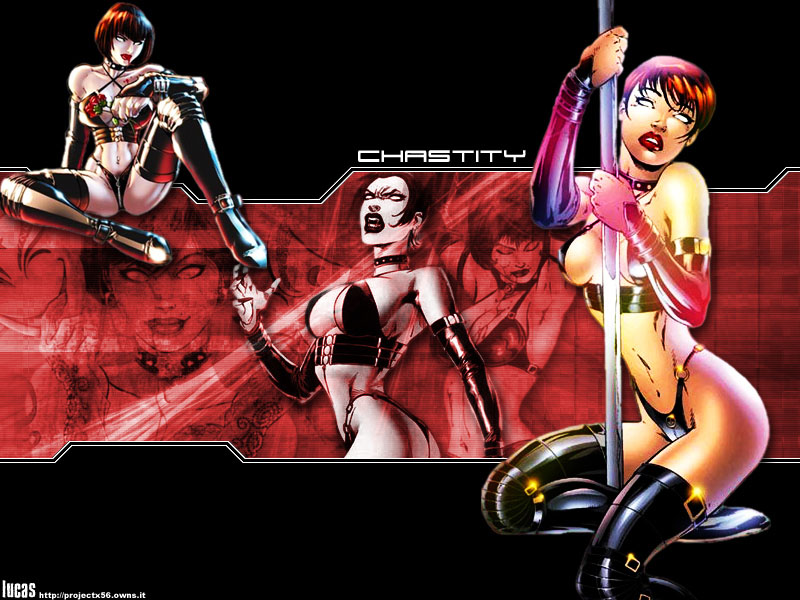 Chastity wallpaper 1