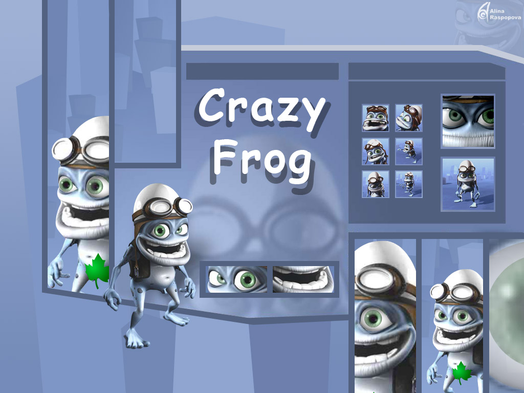You are viewing the Crazy Frog wallpaper named