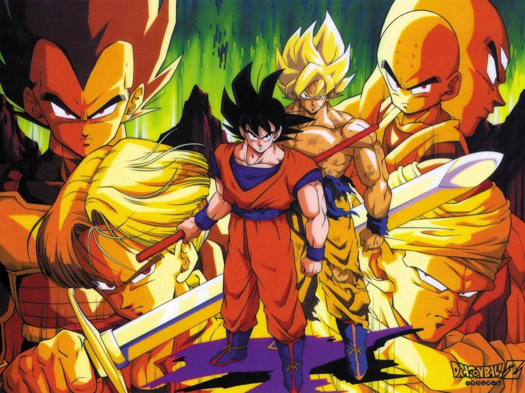 You are viewing the Dragon Ball Z wallpaper named Dragon ball z 5.
