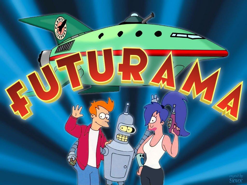 Futurama Fry and Bender