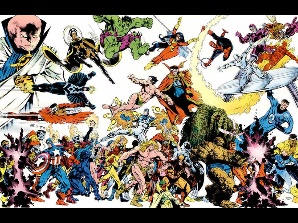 Download Marvel Comics wallpaper, 'Marvel comics 1'.