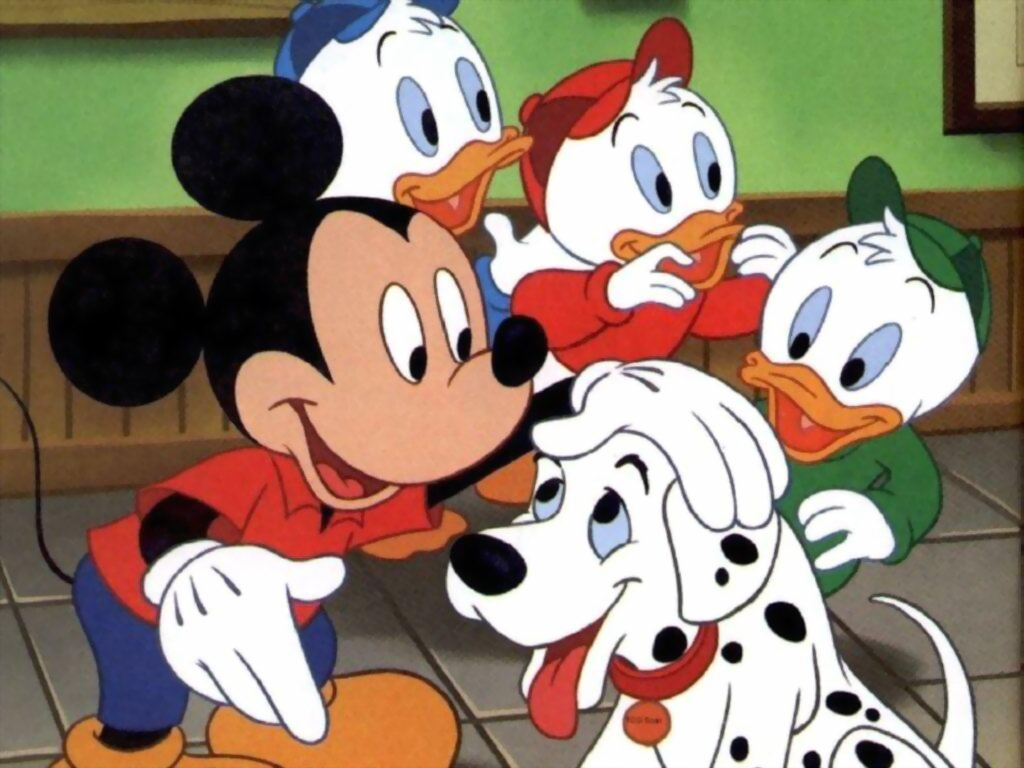 Mickey Mouse Cartoon Video