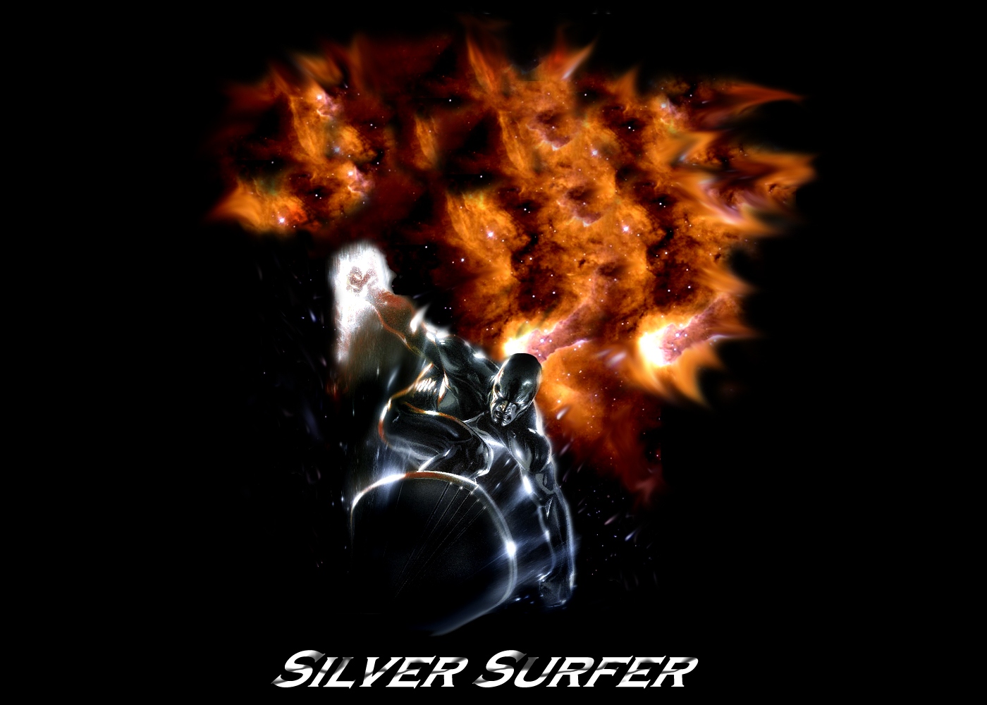 Silver surfer wallpaper 3