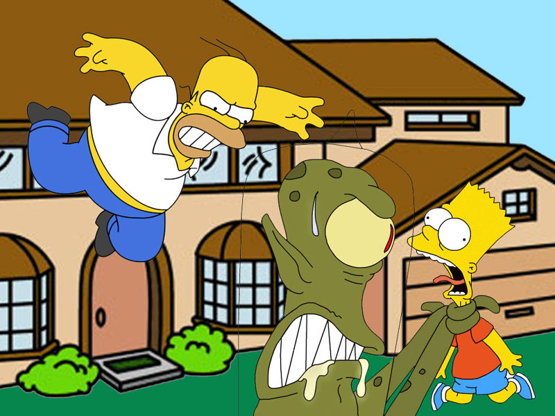simpsons wallpaper. Simpsons wallpaper 38