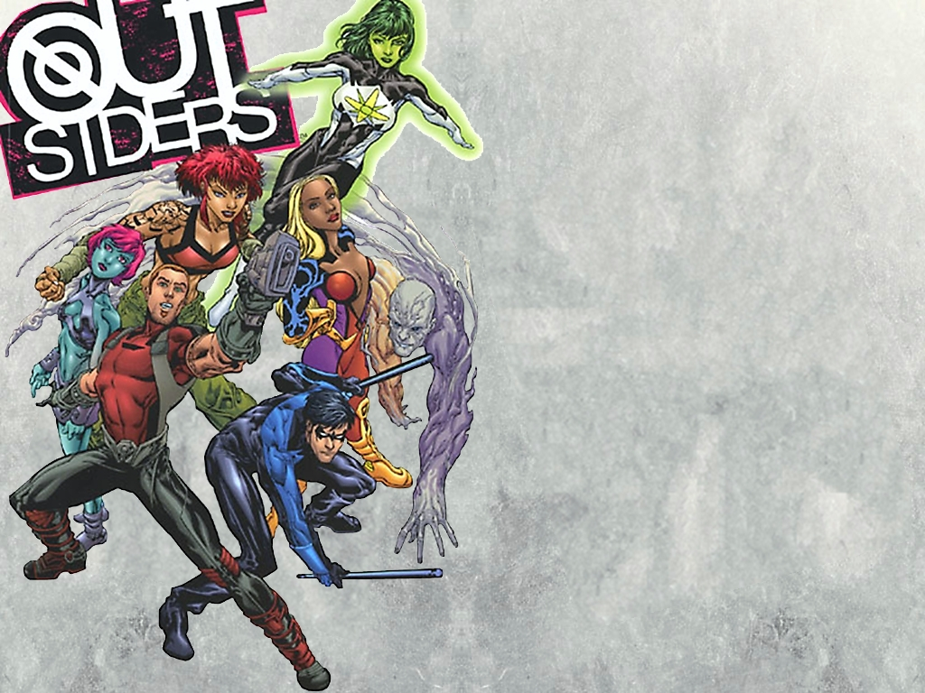 You are viewing the Teen Titans wallpaper named Teen titans 8.