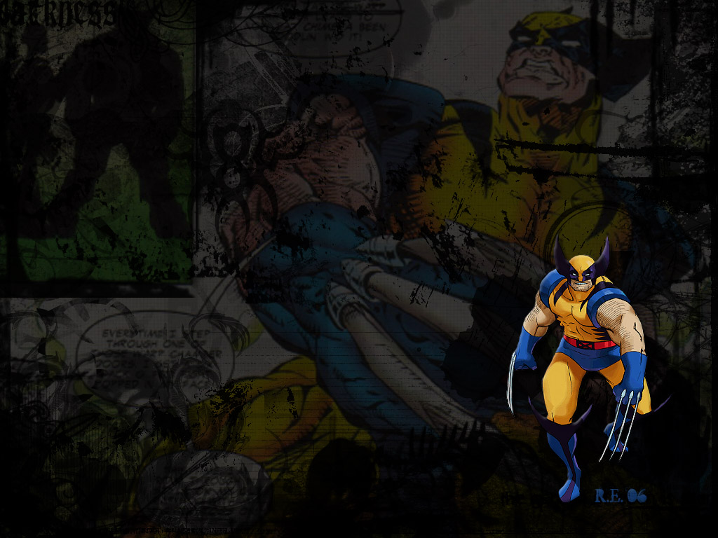 X Men Cartoon Wallpapers