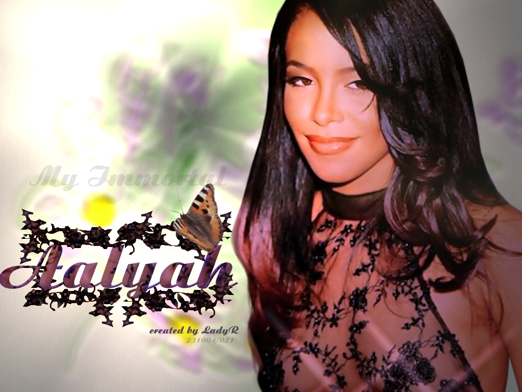 Young Aaliyah Haughton