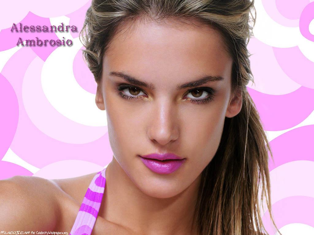 Alessandra Ambrosio 6055.  Home.