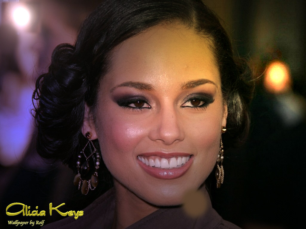 You are viewing the Alicia Keys wallpaper named