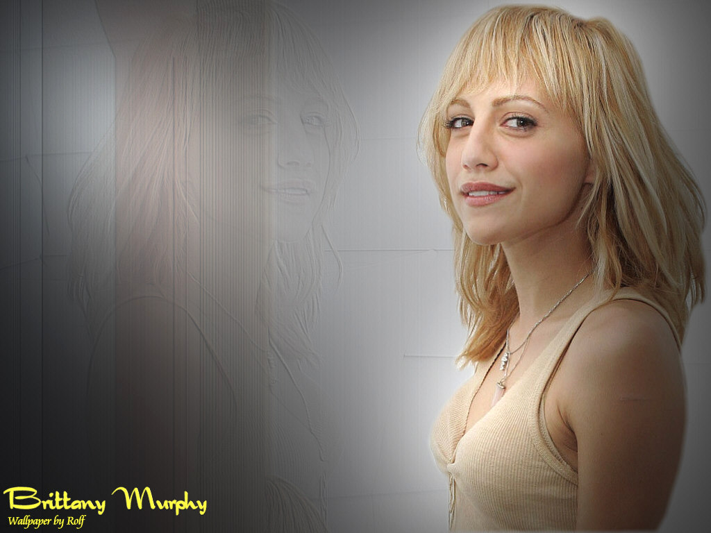 download brittany murphy wallpaper,
