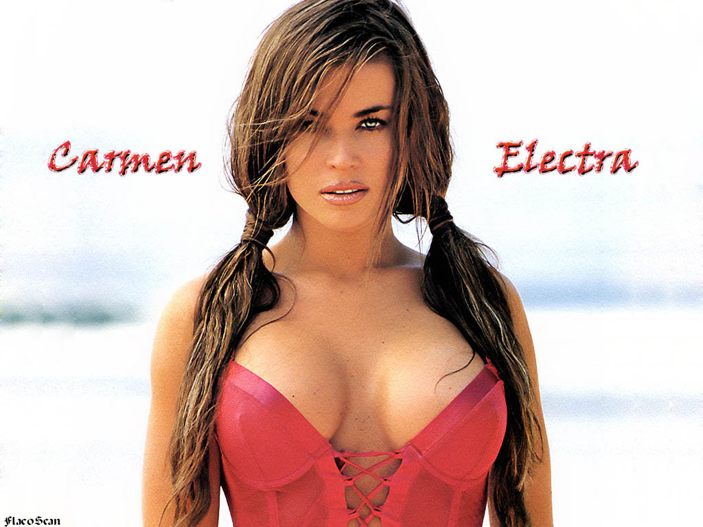 Carmen electra hot question