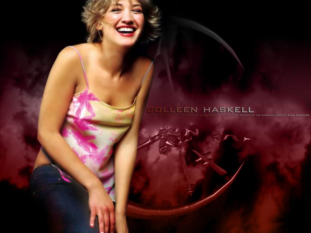 You are viewing the Colleen Haskell wallpaper named Colleen haskell 1 ...