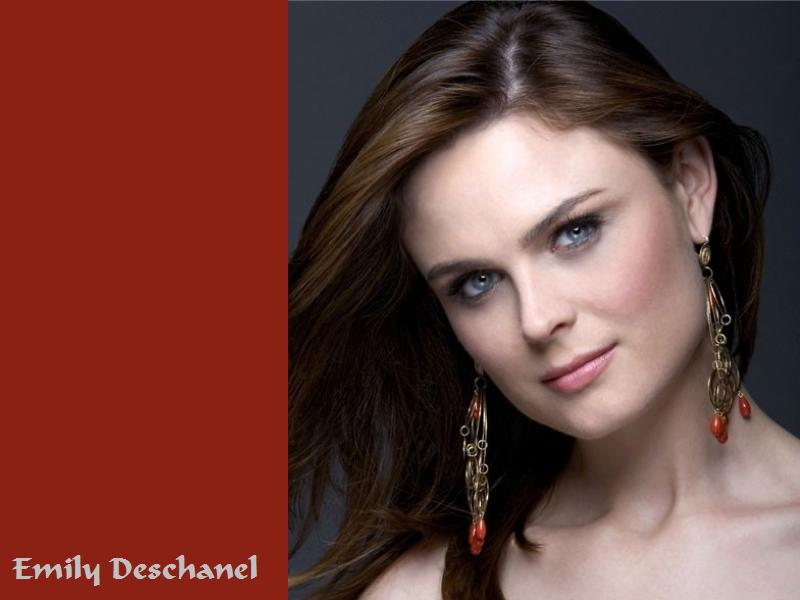 download emily deschanel wallpaper,