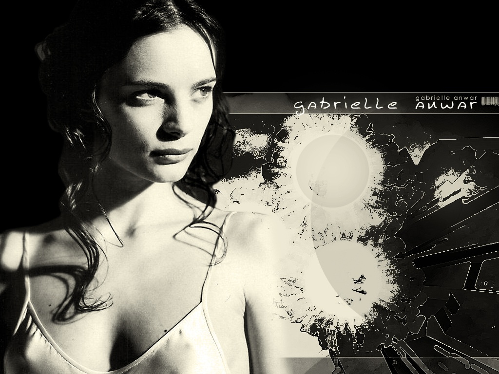 Gabrielle Anwar - Wallpaper