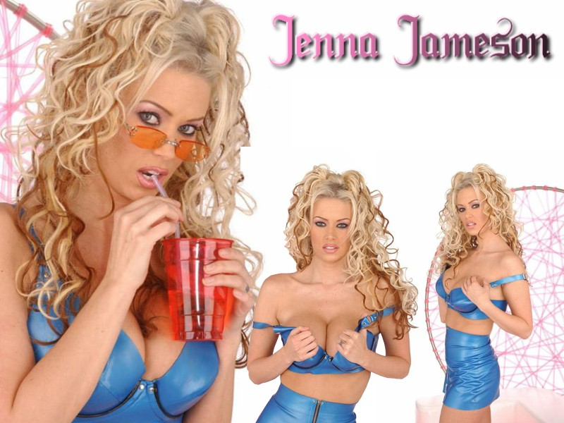 jenna jameson riding a machine
