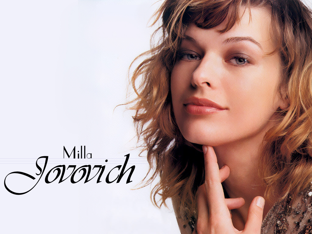 Sexy Milla Jovovich Wallpapers