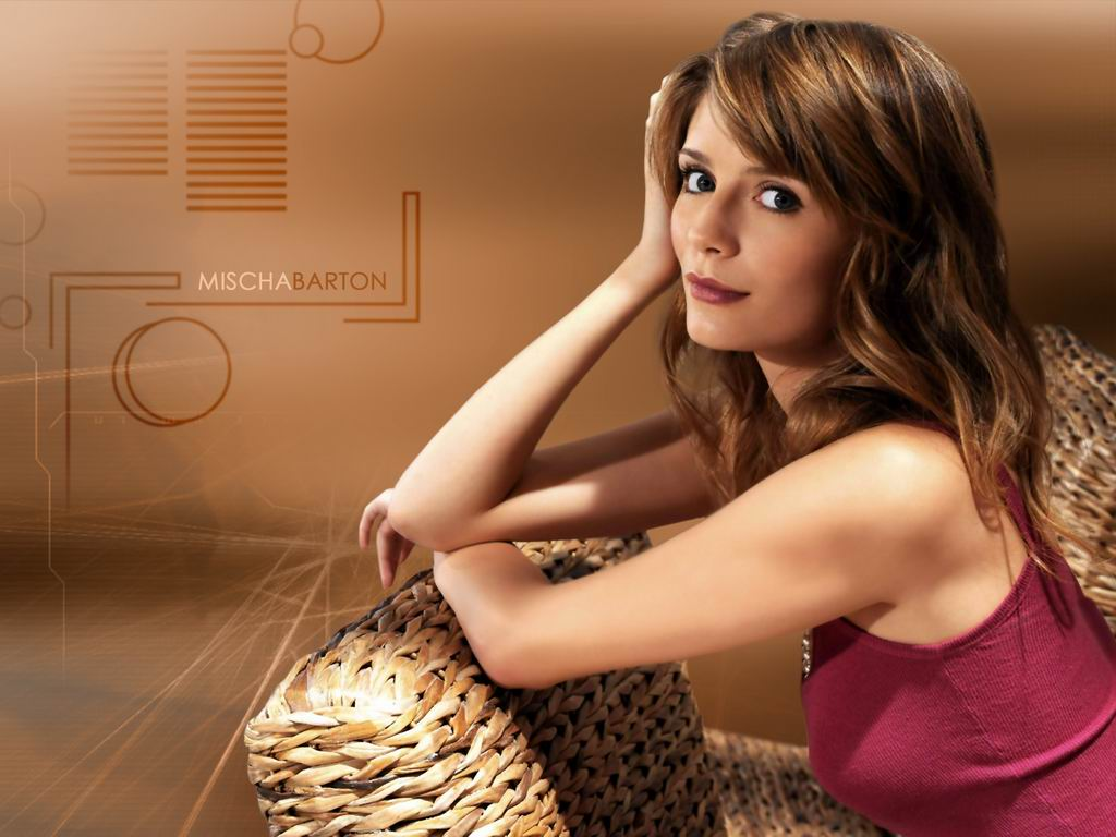 download mischa barton wallpaper,