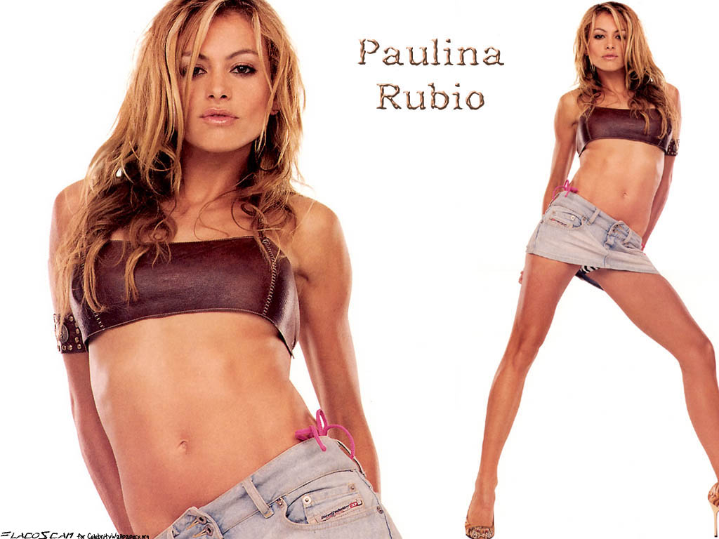 Paulina Rubio - Wallpaper Hot