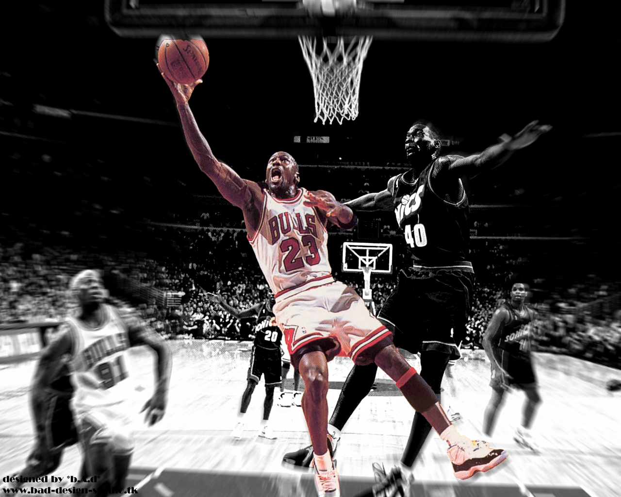 Download Michael Jordan wallpaper, 'Michael jordan 1'.