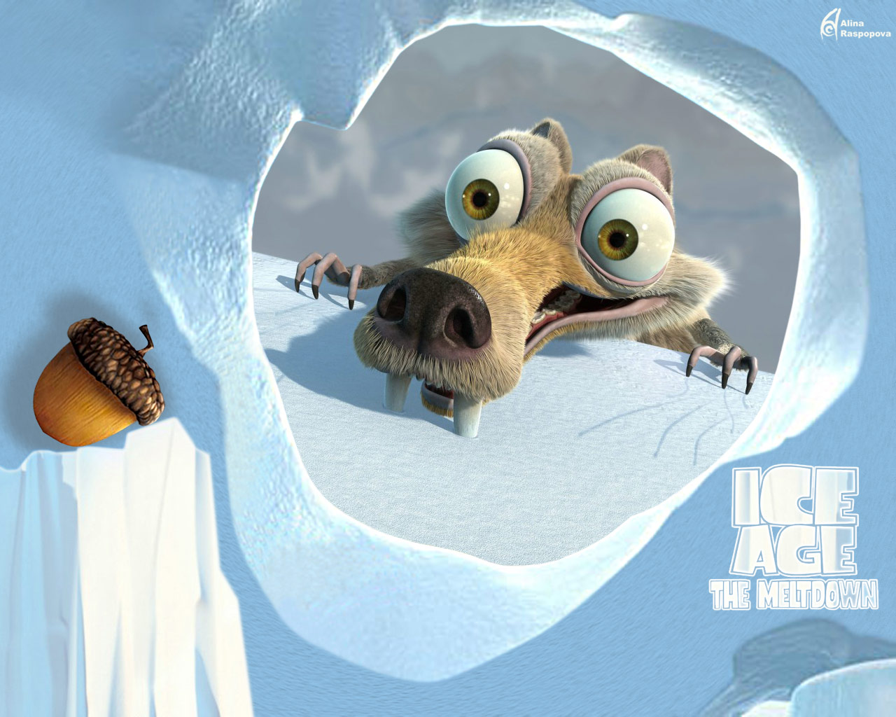 Ice age 2 wallpaper 1