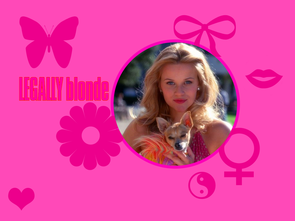Legally blonde wallpaper 1