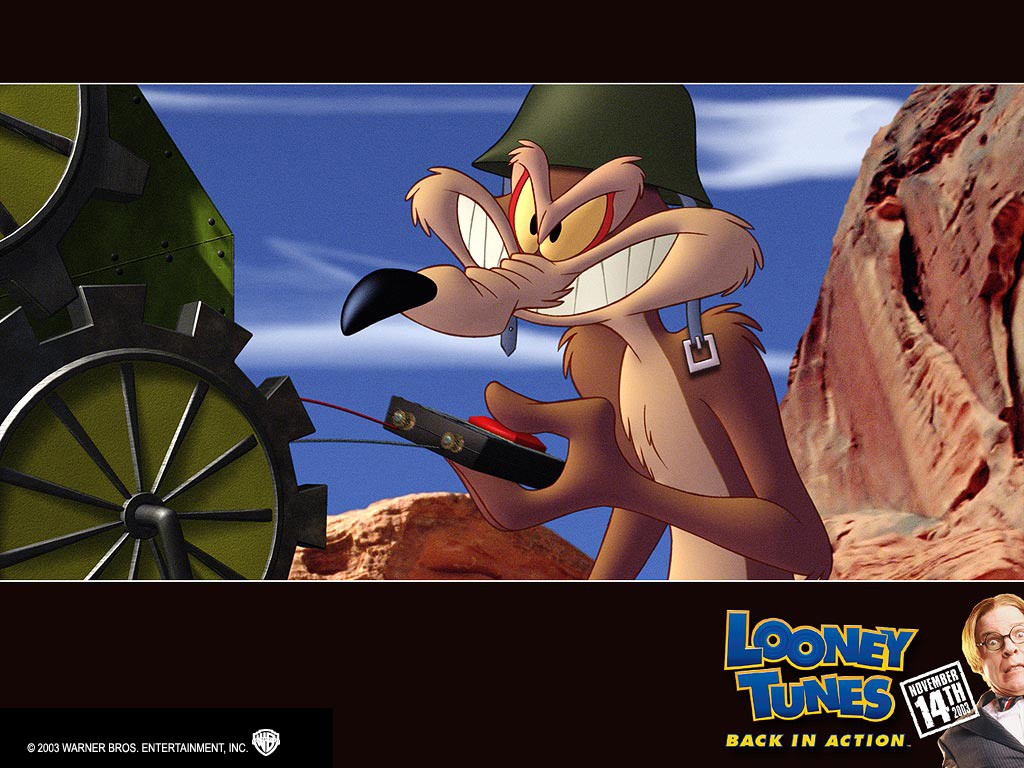 Looney tunes back in action wallpaper 17