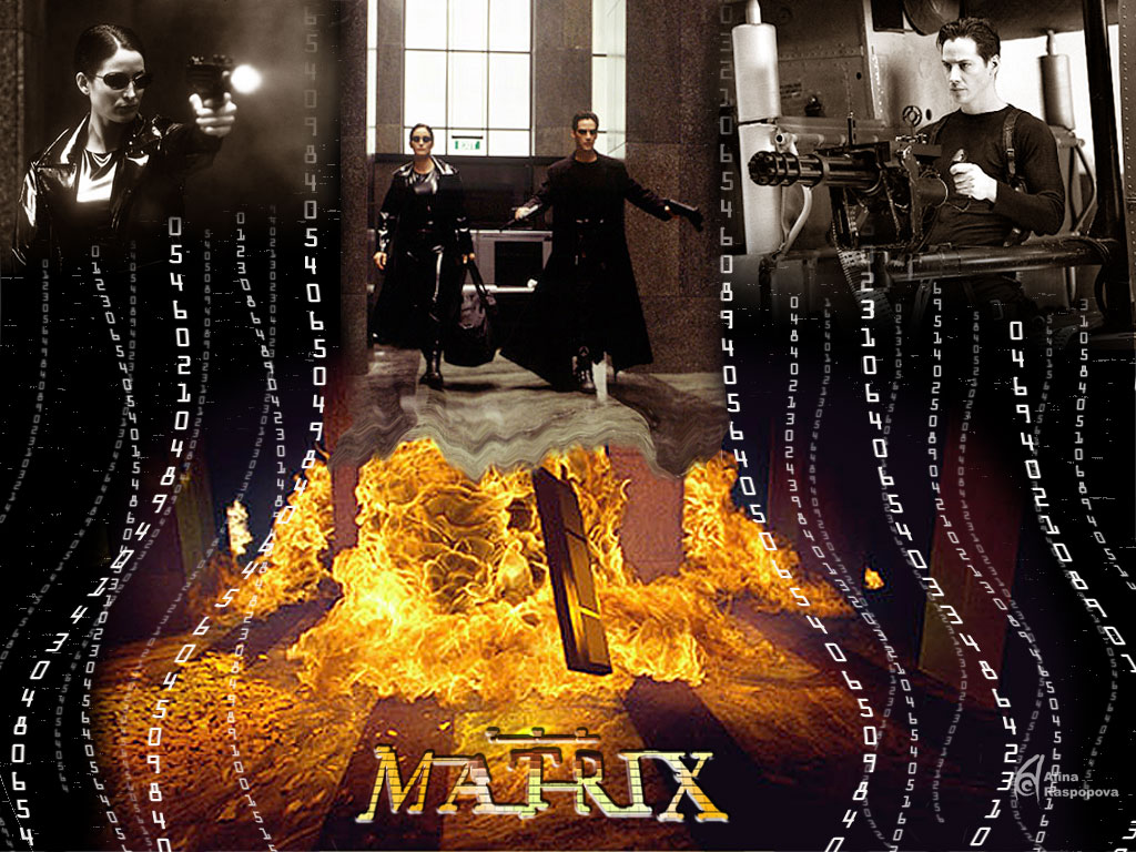 Screenshot 1 of Matrix Code Animated Wallpaper