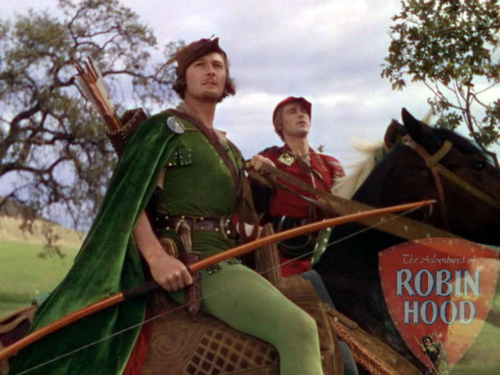 The adventures of robin hood wallpaper 1