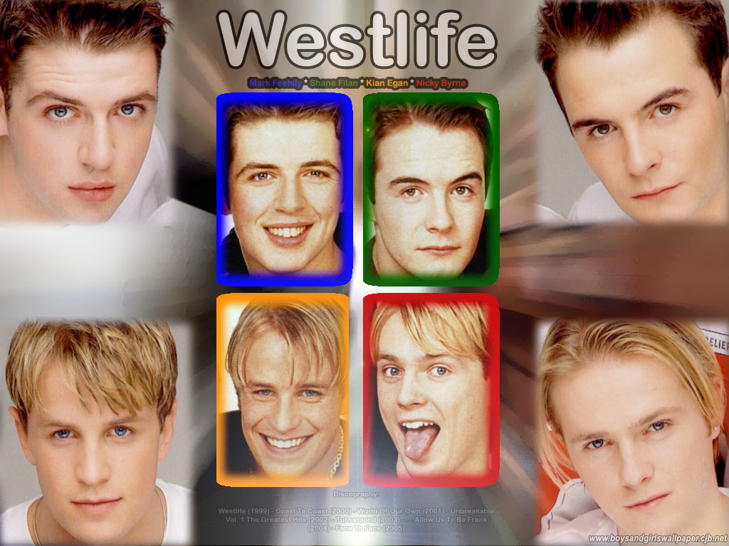 Westlife - Wallpaper Actress