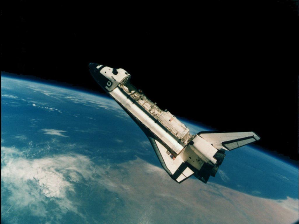 space shuttle space background - photo #26